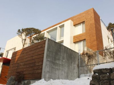사옥을 주택으로 리모델링한 평창동 주택