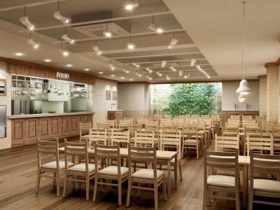 성우오토빌딩 직원식당